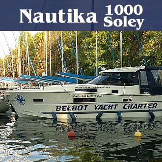 Czarter jachtów Nautika 1000 Soley