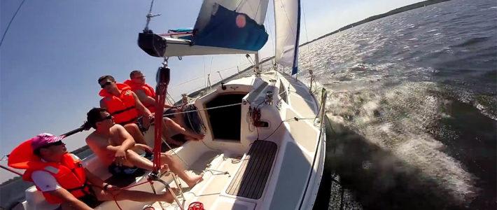 Filmy z czarteru jachtów, regat, filmy szkoleniowe